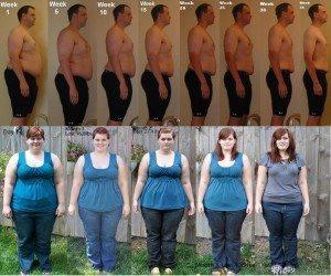 weight loss prograss