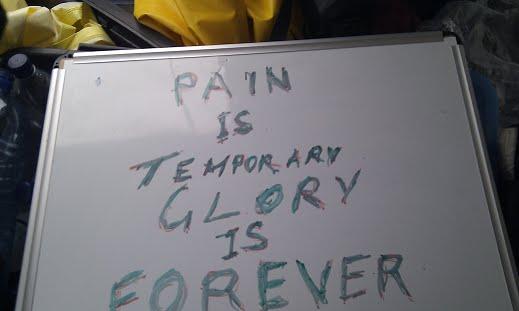 כאב הוא זמני