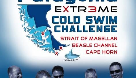 אתגר שחייה במים קרים פטגוניה
