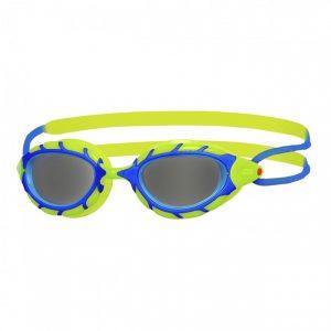 zoggs junior predator goggles blue green
