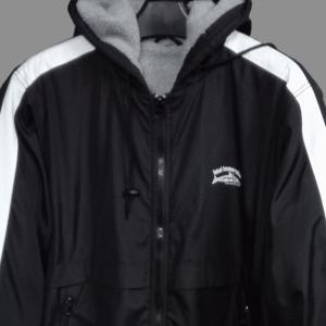 מעיל פארקה שחור