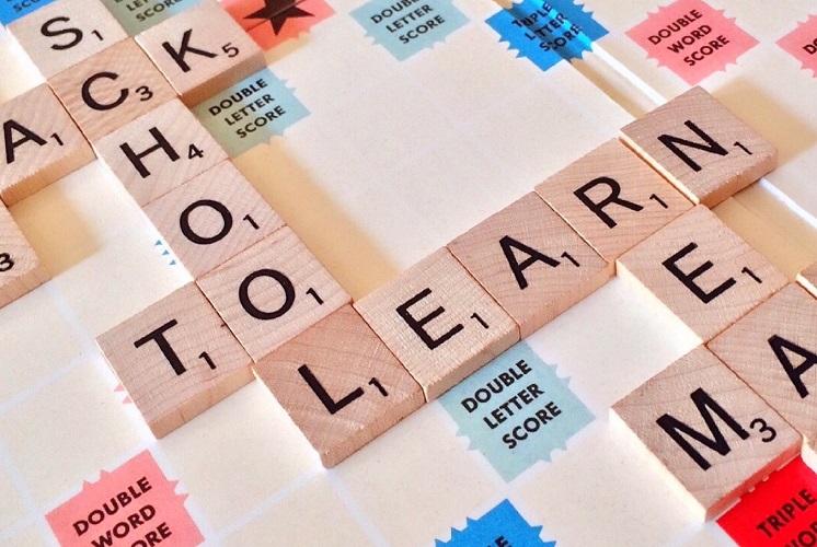 scrabble LEARN