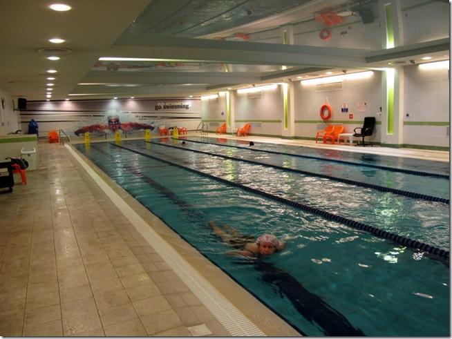 תוספת בריכת השחייה במועדון הספורט Go Active ראשון לציון - לימוד שחייה GK-51