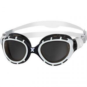 Zoggs Predator Flex Goggles white/black