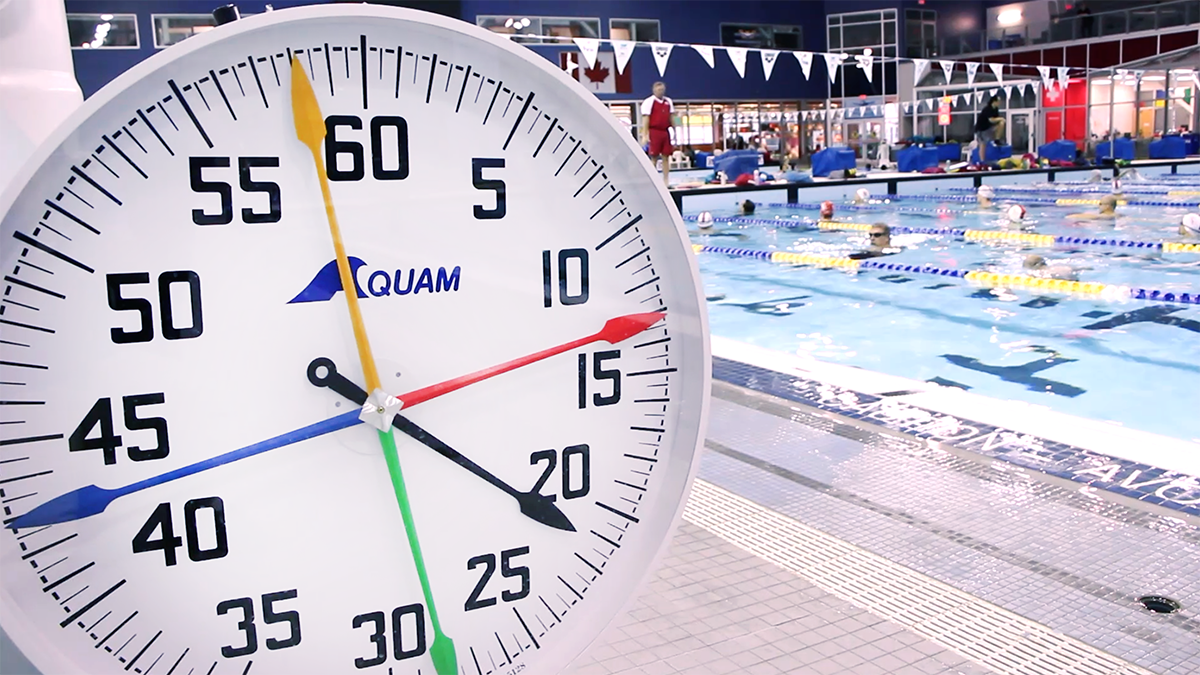 swim intervales